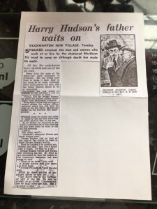 George Hudson article Sheffield Star newspaper 11th May 1938